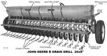 John Deere B Grain Drill - TractorShed.com