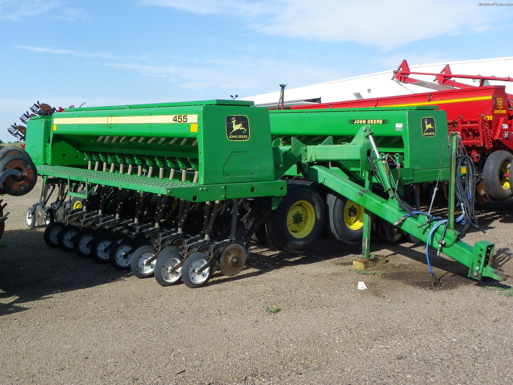 1995 John Deere 455 Planting & Seeding - Box Drills - John ...