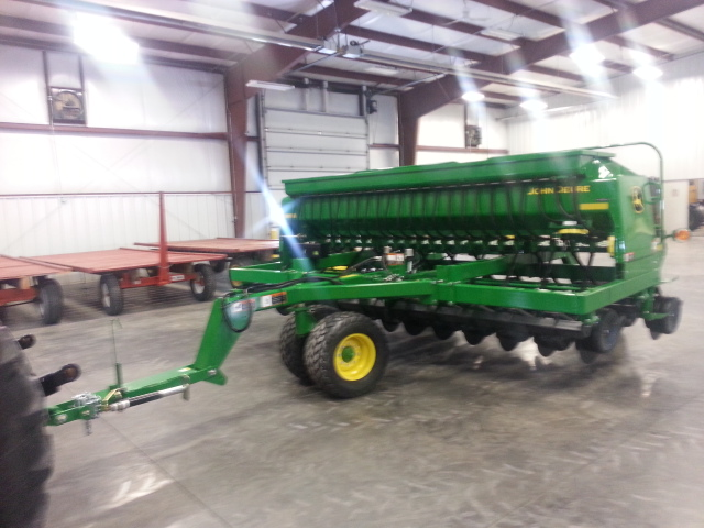 Rediger Ewuipment Wyanet, Illinois -- New John Deere 1590 ...