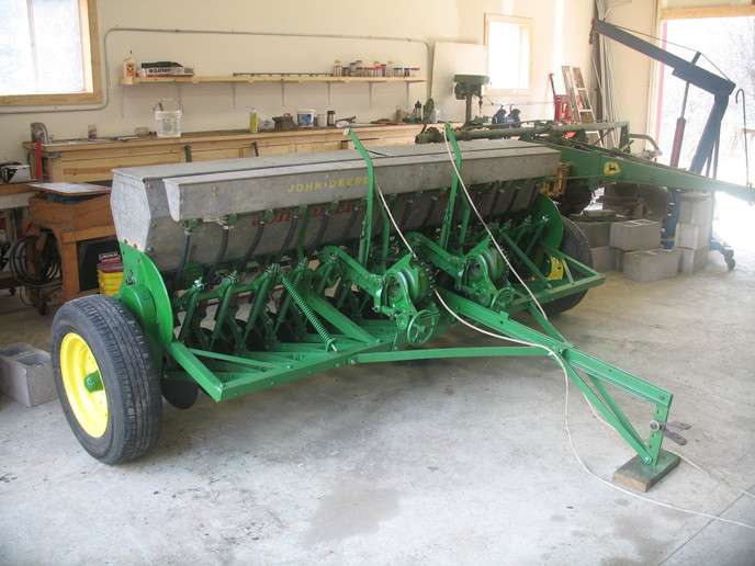 1956 John Deere Model B Grain Drill (2015-09-06) - Tractor ...