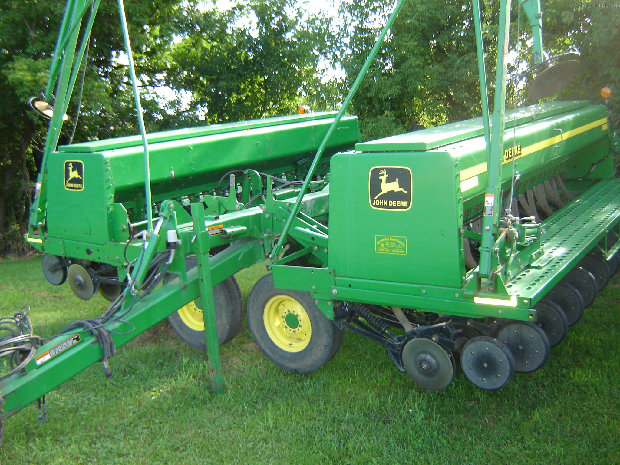 2000 John Deere 455 Planting & Seeding - Box Drills - John ...