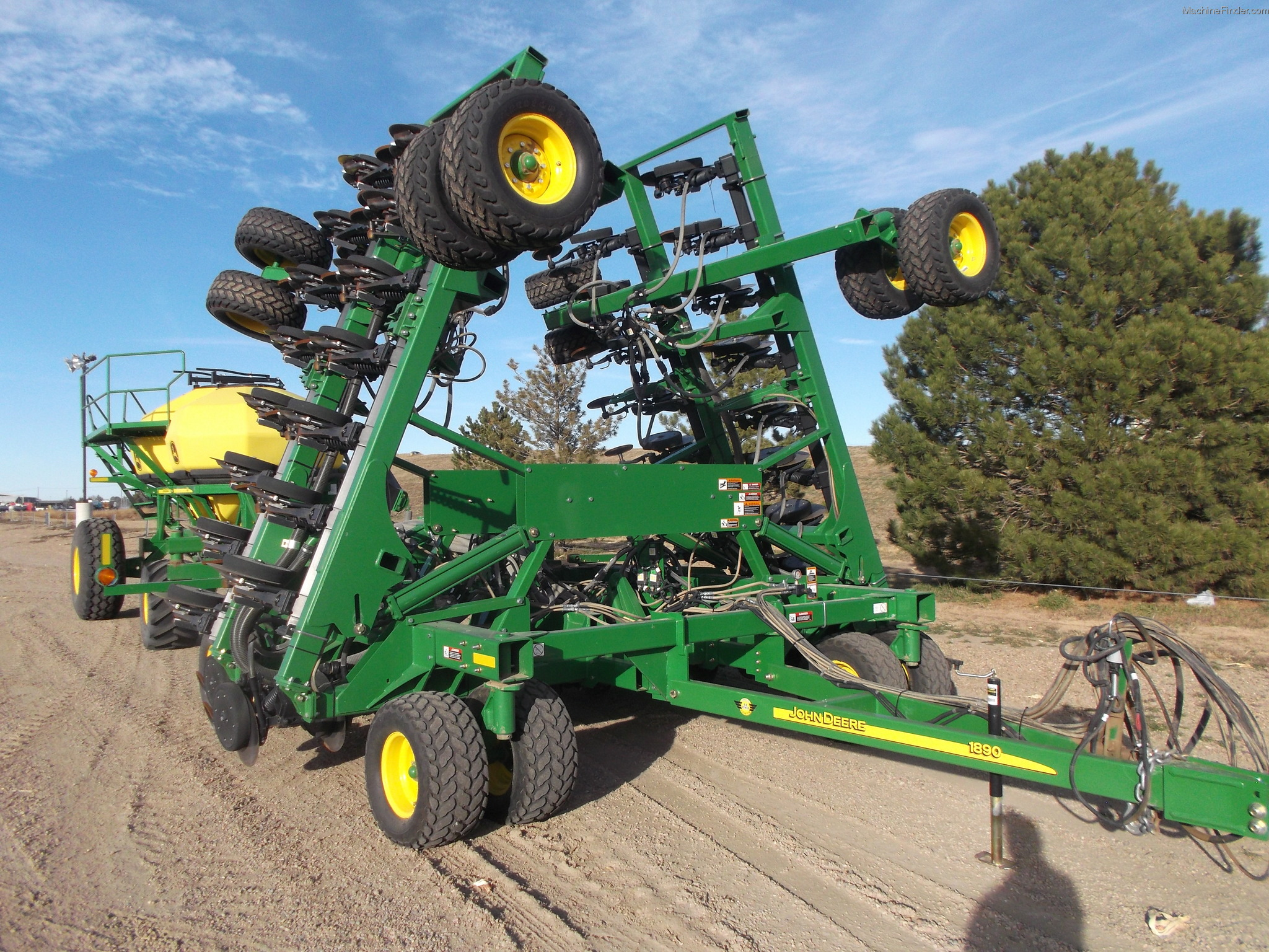 2011 John Deere 1890 Planting & Seeding - Air Drills ...