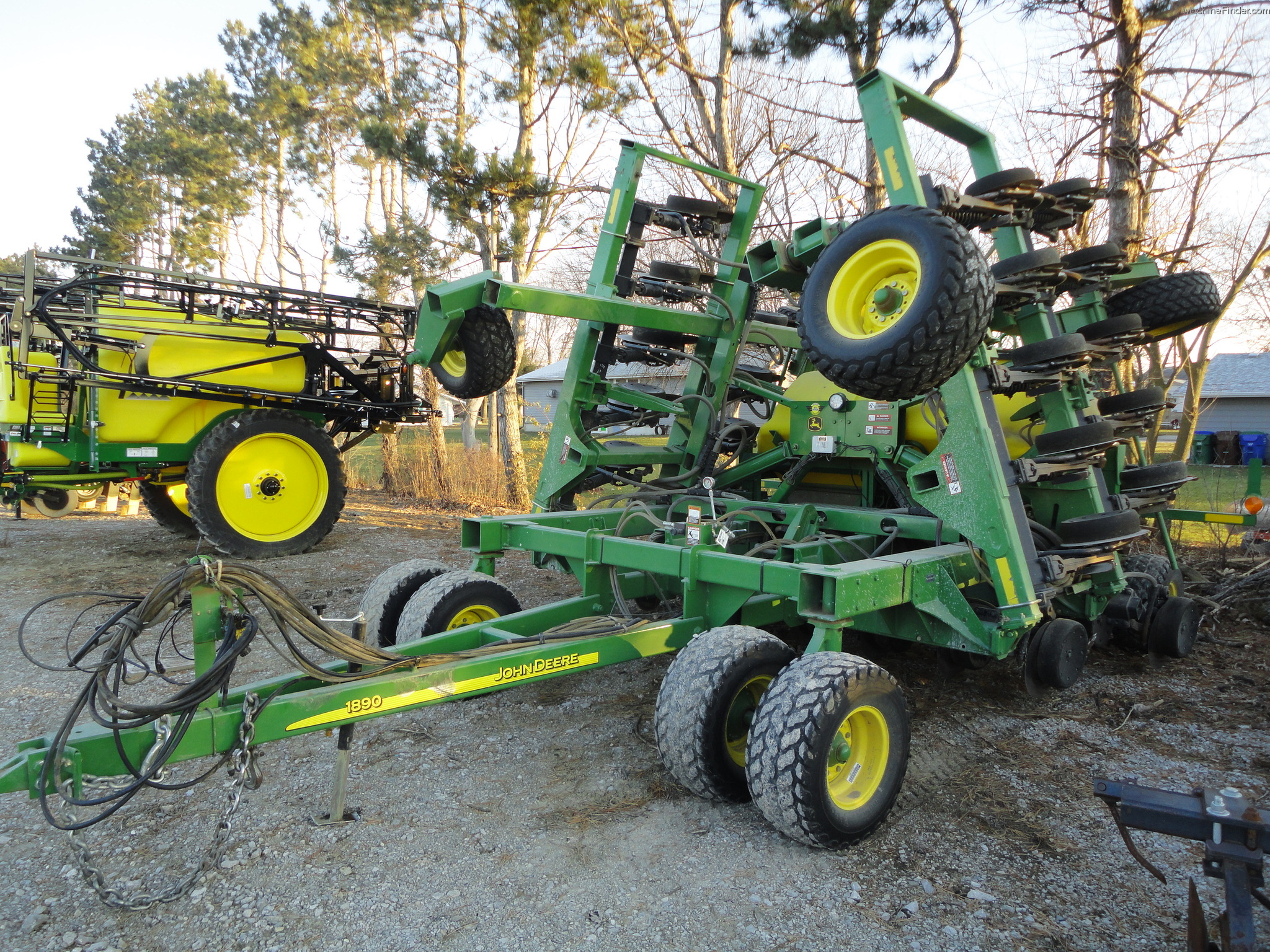 2005 John Deere 1890 Planting & Seeding - Air Drills ...