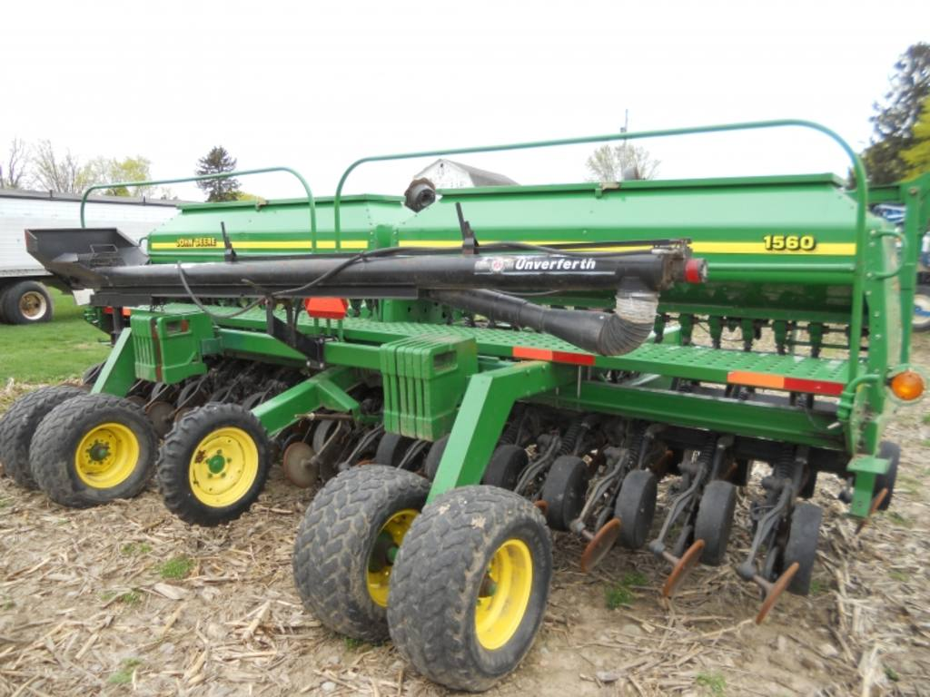 2002 John Deere 1560 No-Till Drill, 20 ft., S/N - 695261