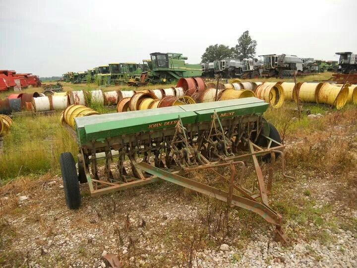 John Deere Grain Drill | tractors and implements, etc ...