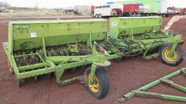 John Deere LL166 15' Grain Drill Set