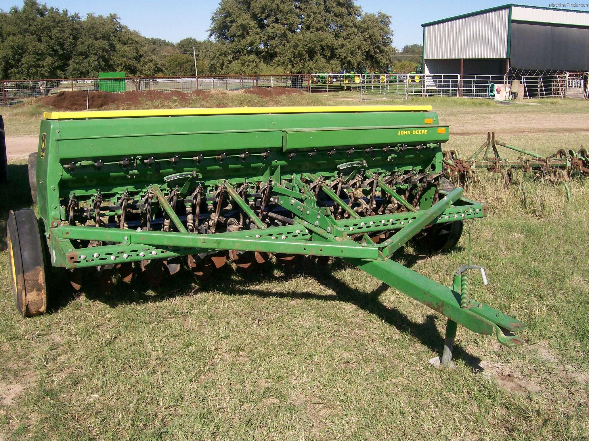 John Deere 8000 Planting & Seeding - Box Drills - John ...