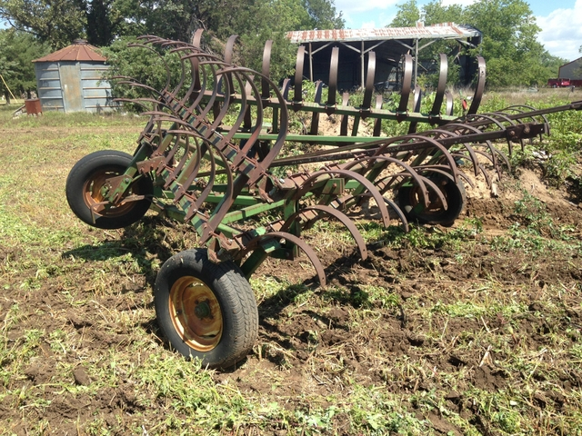 John Deere spring tooth cultivator F 100 H - DiscoverStuff