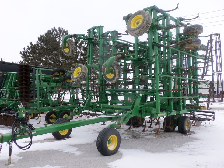Big wide JOhn Deere 2210 cultivator | TRACTORS & OTHER ...