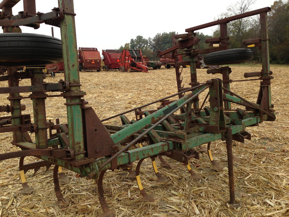 John Deere 3 Point 1000 18' Field Cultivator Good Shovels ...