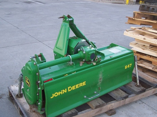 2010 John Deere 647 Tiller for three-point-hitch Tractors ...