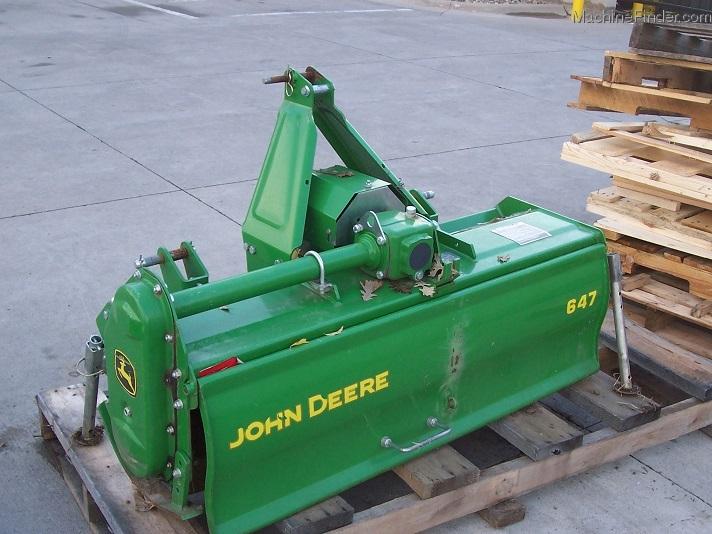 2010 John Deere 647 Tiller for three-point-hitch Tractors ...