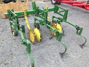 John Deere 2 Row Crop Field Garden Food Plot Cultivator 3 ...
