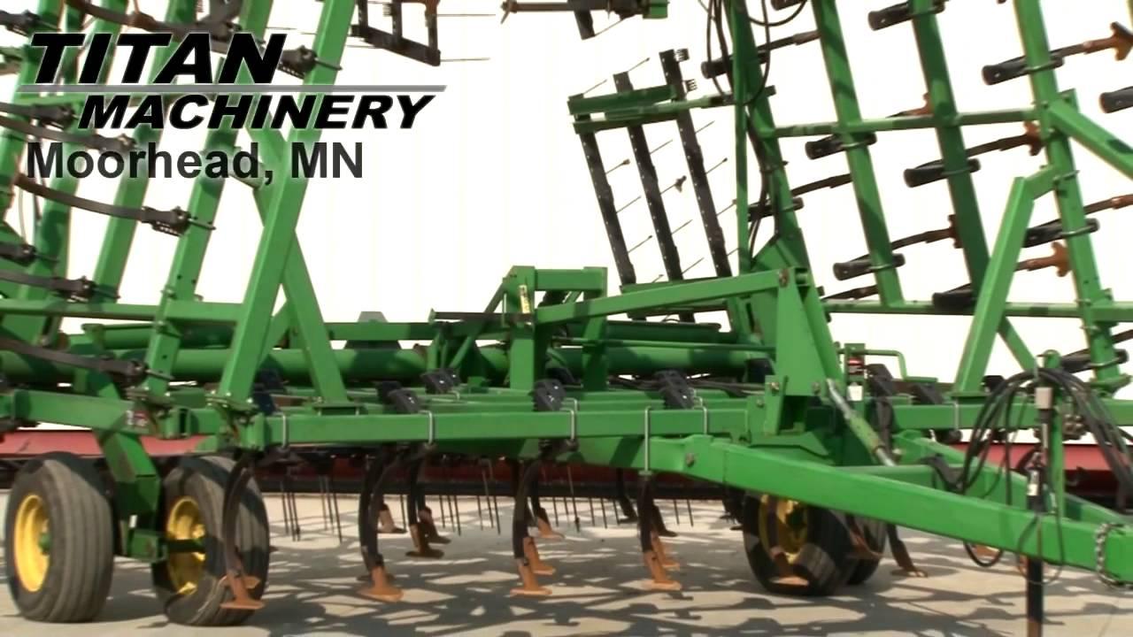 John Deere 980 Field Cultivator Sold on ELS! - YouTube