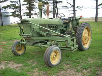 Used Farm Tractors for Sale: John Deere Front Cultivator ...