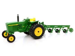 John Deere 3020 With 4 Bottom Plow | Down On The Farm