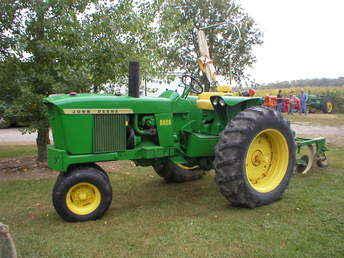 Used Farm Tractors for Sale: John Deere 3020 W/Plow ...