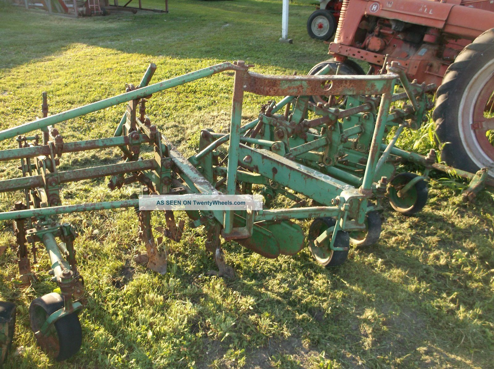 John Deere 4 Row Cultivator Vintage Antique