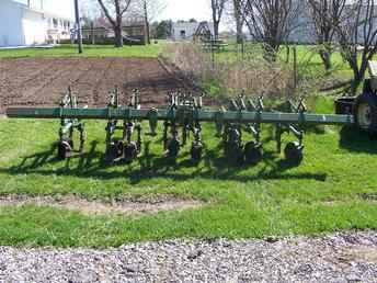 Used Farm Tractors for Sale: John Deere 4 Row Cultivator ...