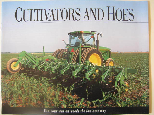 John Deere 825 845 875 886 Cultivator 400 Rotary Hoe Sales ...