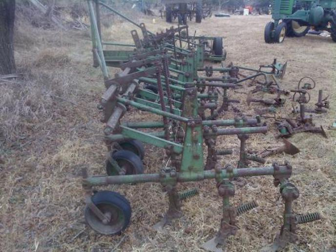 My new John Deere ABG 400 Culti. a... - Yesterday's Tractors