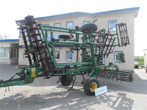 Used John Deere Multitiller 410 A cultivators Year: 1998 ...