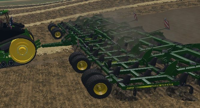 JOHN DEERE 420 CULTIVATOR - LS15 Mod | Mod for Farming ...