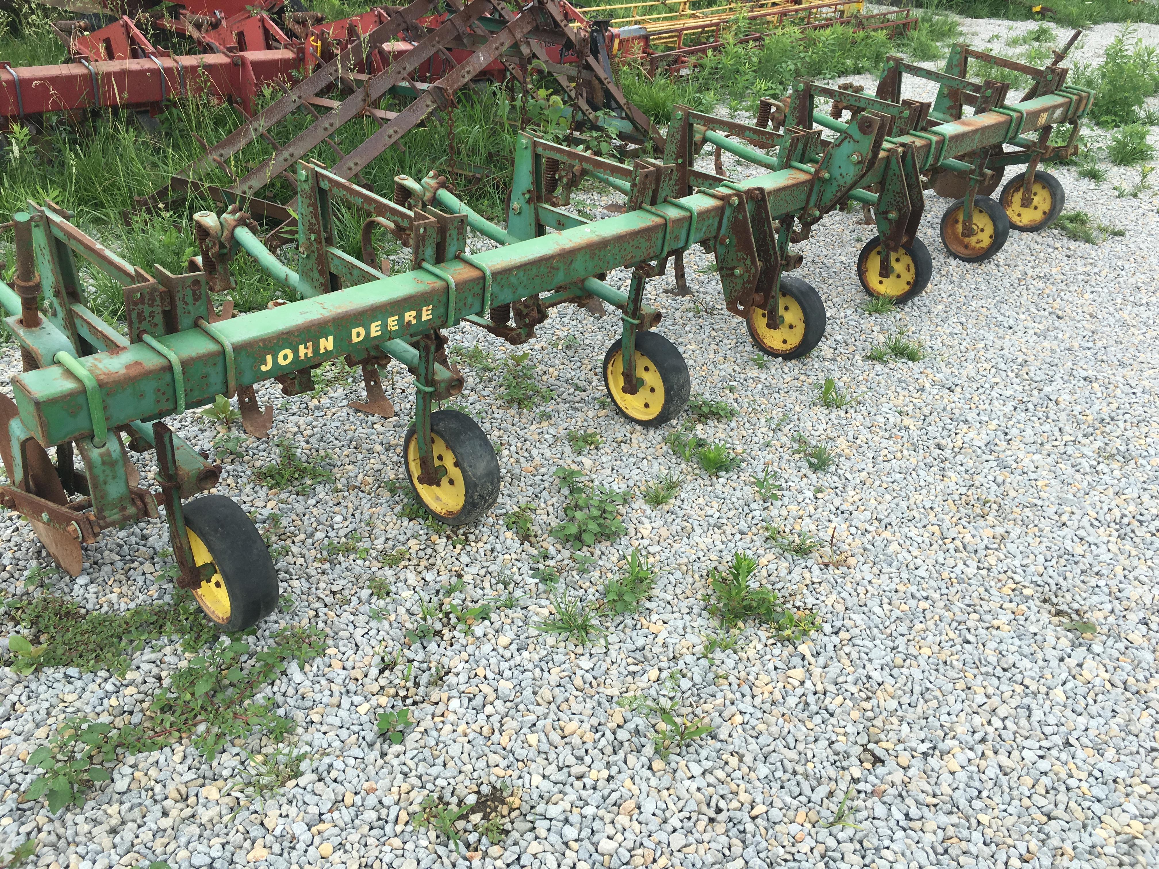 John Deere RM 6 Row Crop Cultivator | JD Green Parts ...