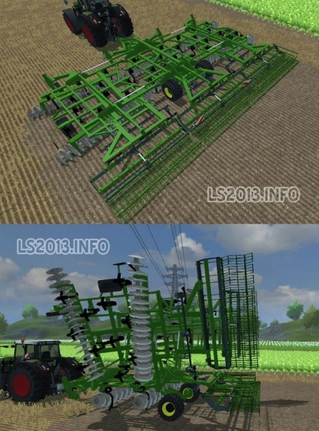 John Deere Cultivator - Farming simulator 2013, 2015 mods