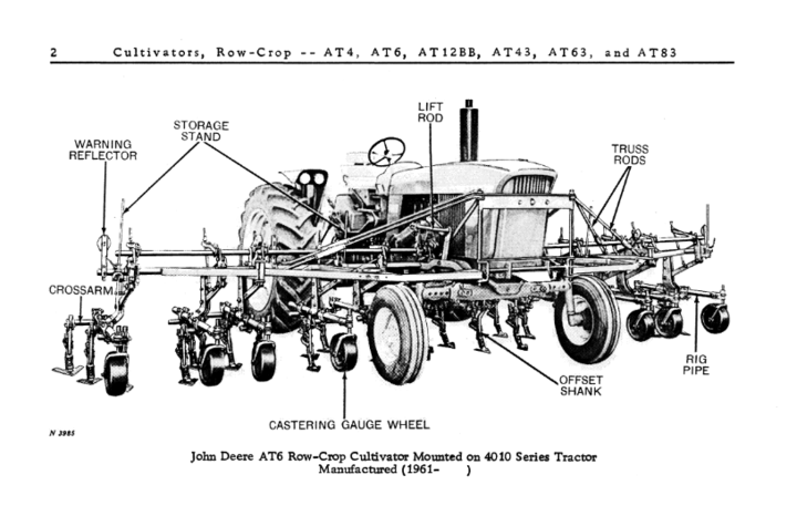 Cultivator For A 4020? - John Deere Forum - Yesterday's ...