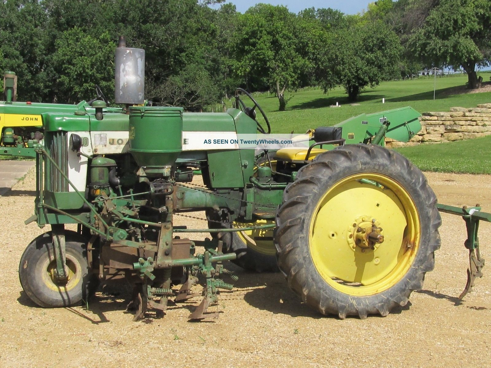 John Deere 430 Cultivator W/ Fertilizer Side Dresser 3 ...