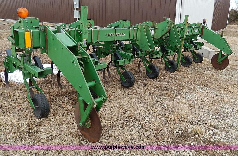 1998 John Deere 856 six row cultivator | Item H1255 | SOLD