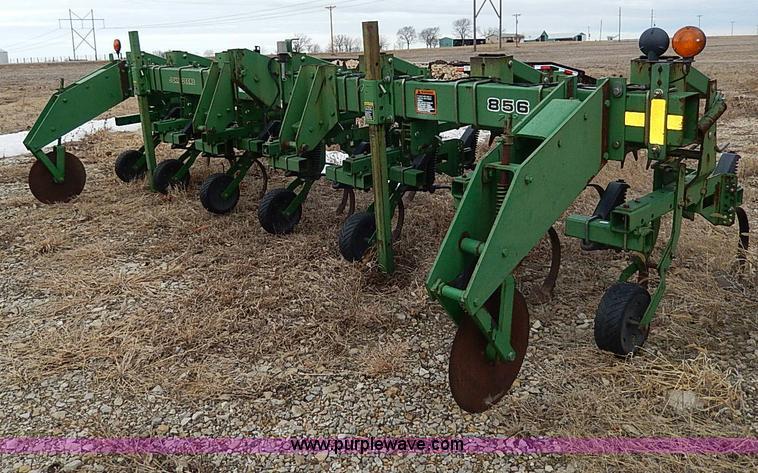 1998 John Deere 856 six row cultivator | no-reserve ...