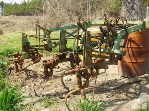 John Deere A20 2 row cultivator - (Buffalo Junction) for ...