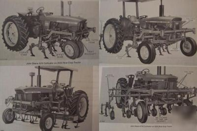 John deere 4020,3020,2020,2520 mountd cultivator manual