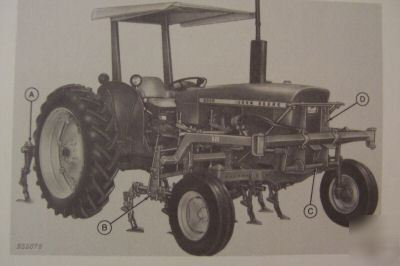 John deere 1020,2020,2030 tractor cultivators manual