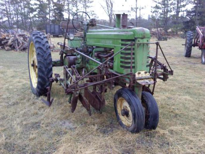 Found another John Deere ABG 200 C... - Yesterday's Tractors