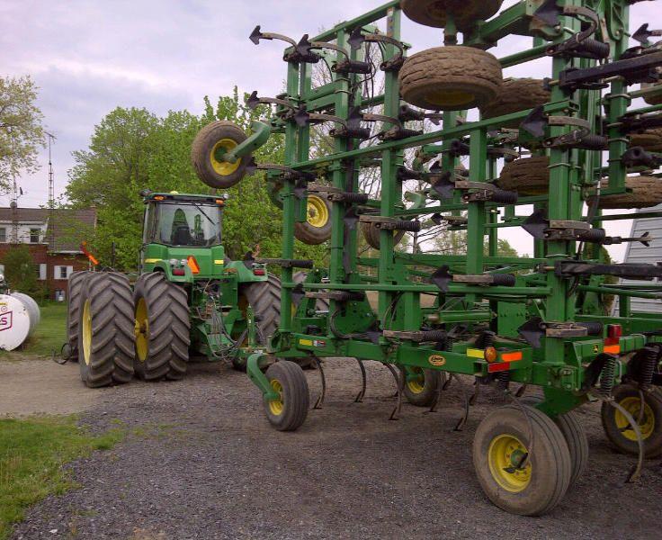 John Deere Cultivator | John Deere Farm Equipment | Pinterest