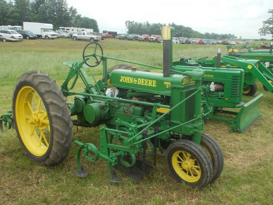 john deere B and cultivator | love john deere | Pinterest ...
