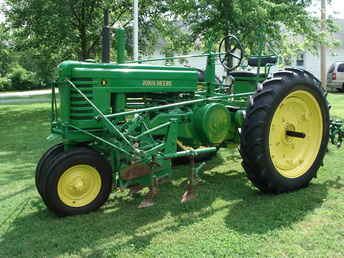 Used Farm Tractors for Sale: John Deere B W/Cultivator ...
