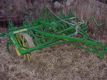Used Farm Tractors for Sale: John Deere CC Cultivator ...