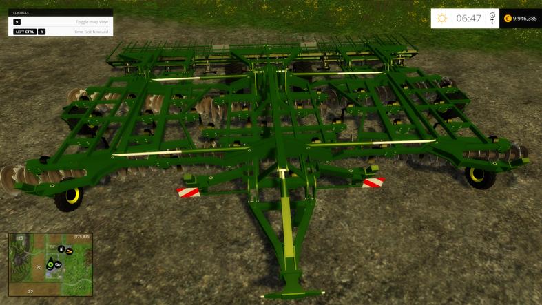 John Deere Cultivator - Farming Simulator 2015 / 2017 mods ...