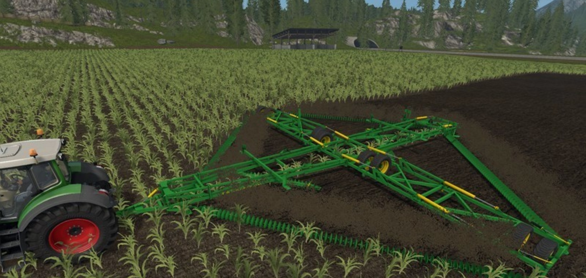 Cultivator Kelly 60CT Diamond Harrow - Mod for Farming ...