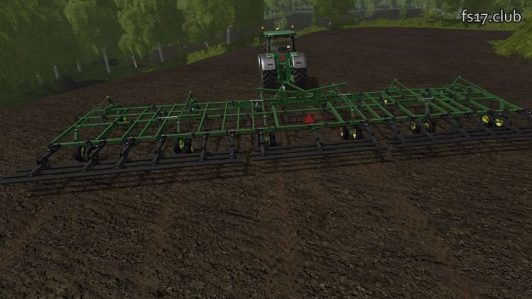 John Deere 2410 5 Section v1.0 - FS17 Club