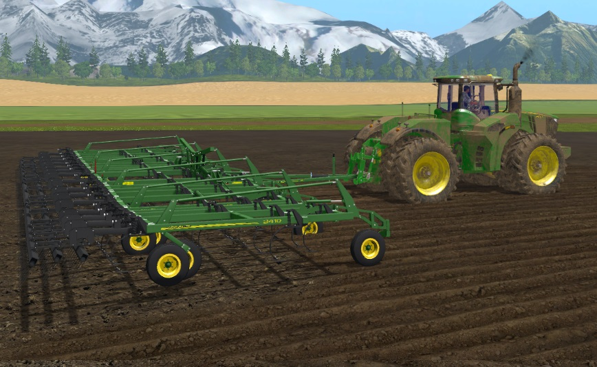 JOHN DEERE 2410 5 SECTION - FS 17 Cultivators - Farming ...