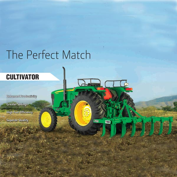 John Deere Cultivator SC1009-Spring Loaded - agroman