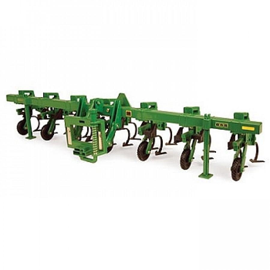 John Deere 1:64 scale 2200 Field Cultivator Toy - TBE45355