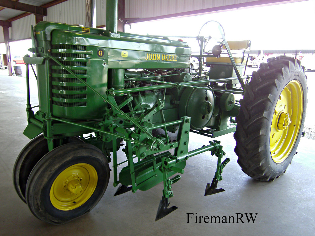 John Deere G with cultivator | Canton, TX 2014 | FiremanRW ...