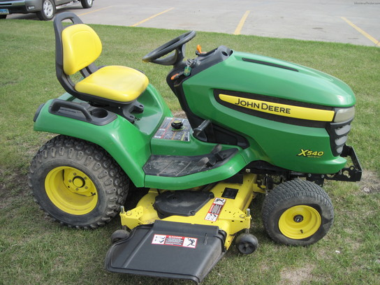 2007 John Deere X540 with tiller Lawn & Garden and ...
