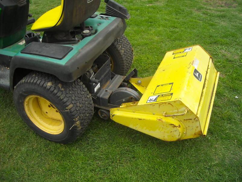 NEW John deere 265 GT with a tiller - Garden Tractor Forum ...